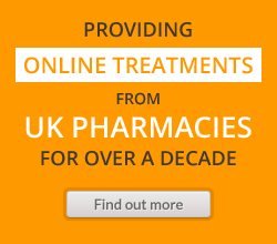 Providing online treatments from UK pharmacies for over a decade