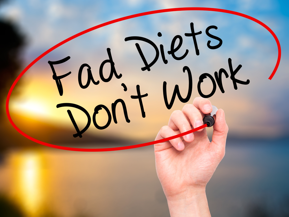 Fad diets dont work